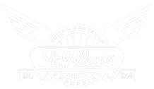 Saint Blues Guitar logo